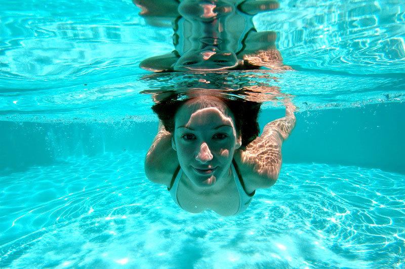 Чем фотографируют в воде