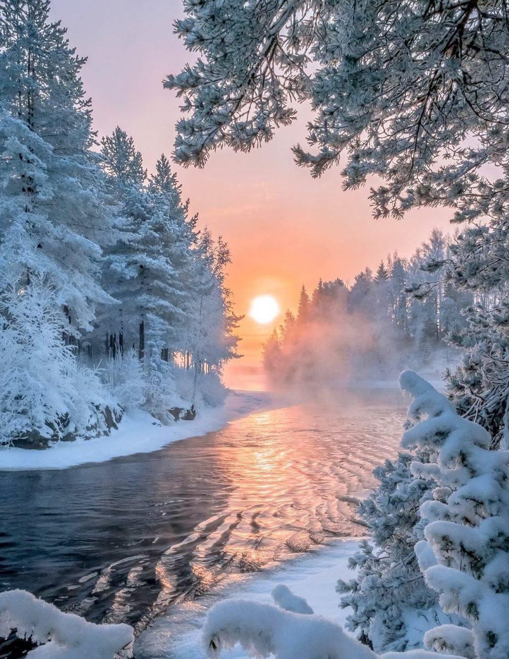 Фотографии и открытки зима