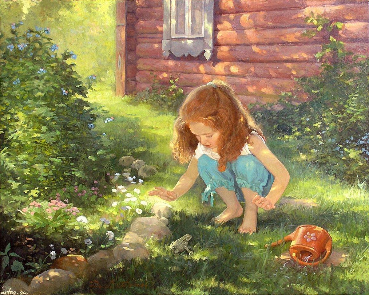 Картинки человек и природа для детей, открытки