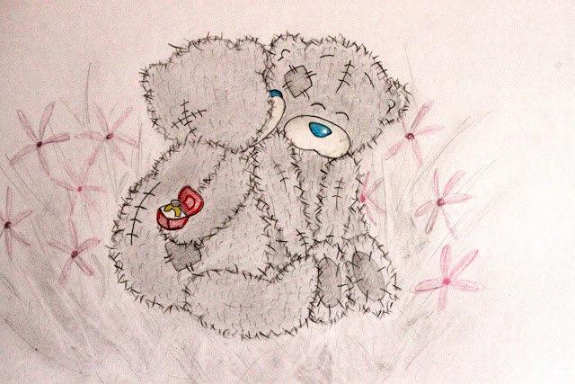 Срисовывать картинки с мишками
