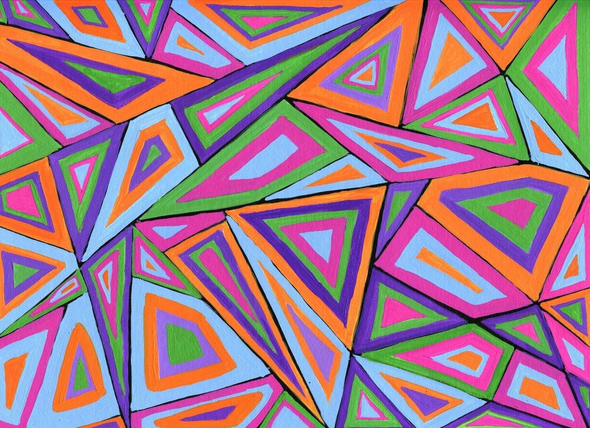 Орнаменты картинки геометрические