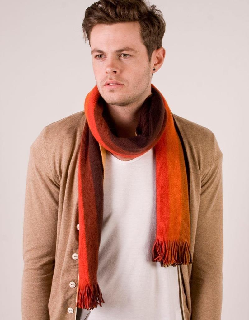 Парень с шарфом картинки