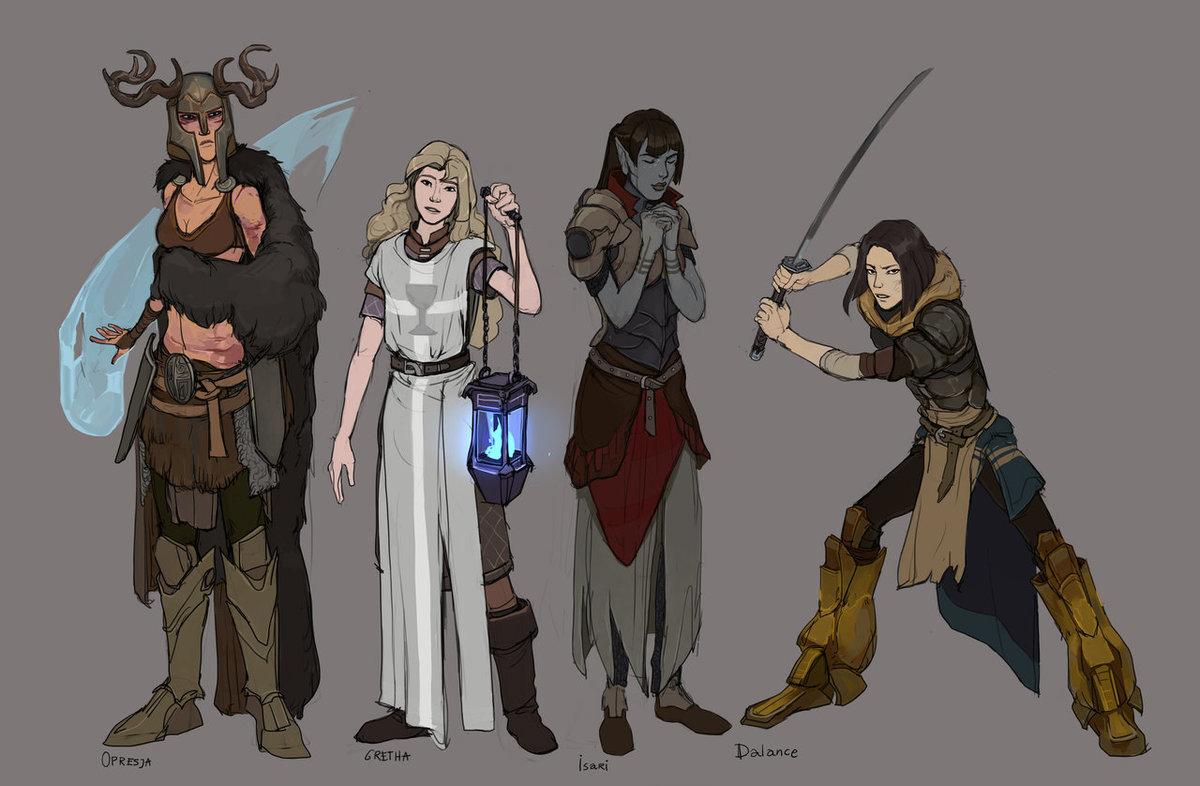 теряйте скайрим арты персонажей женщина мечтает