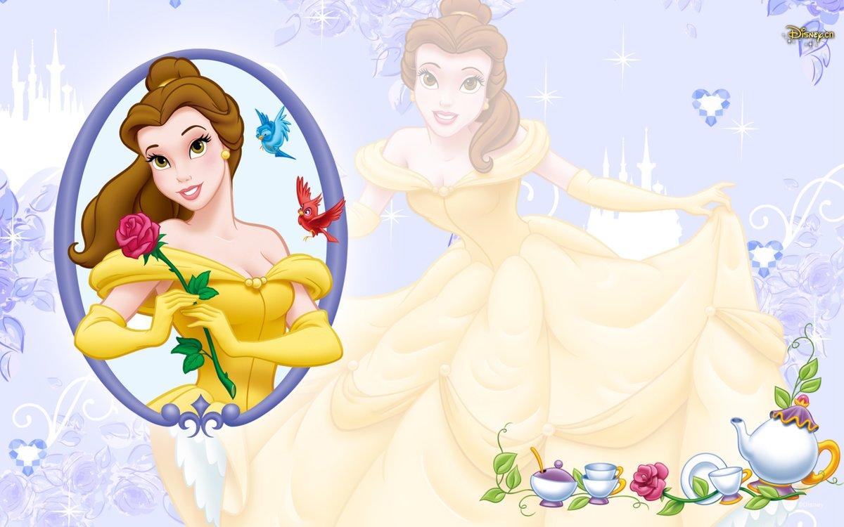 Бабушке, картинка с принцессами переписка