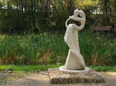 садово-парковая скульптура рисунок