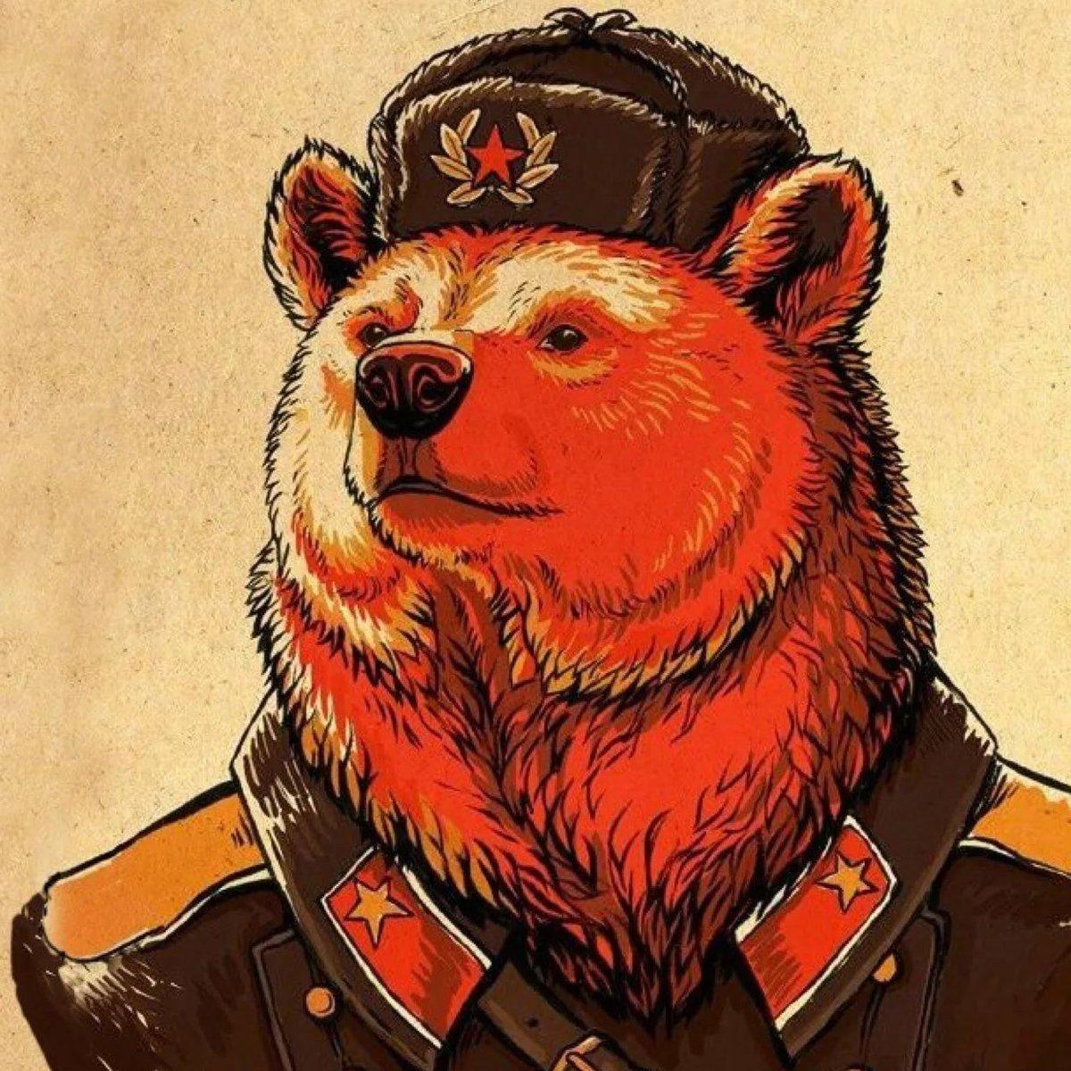 Прикольные картинки медведь россия, открытки разрезная композиция