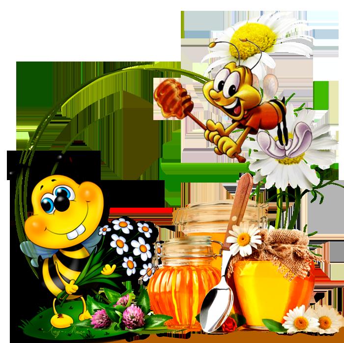 Детские картинки медовые
