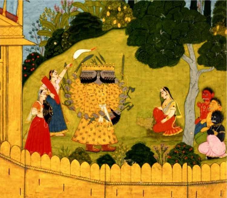 П. Гринцер - Великий эпос Индии