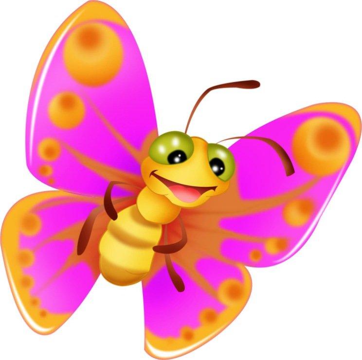 Картинки для детей бабочка, поздравление