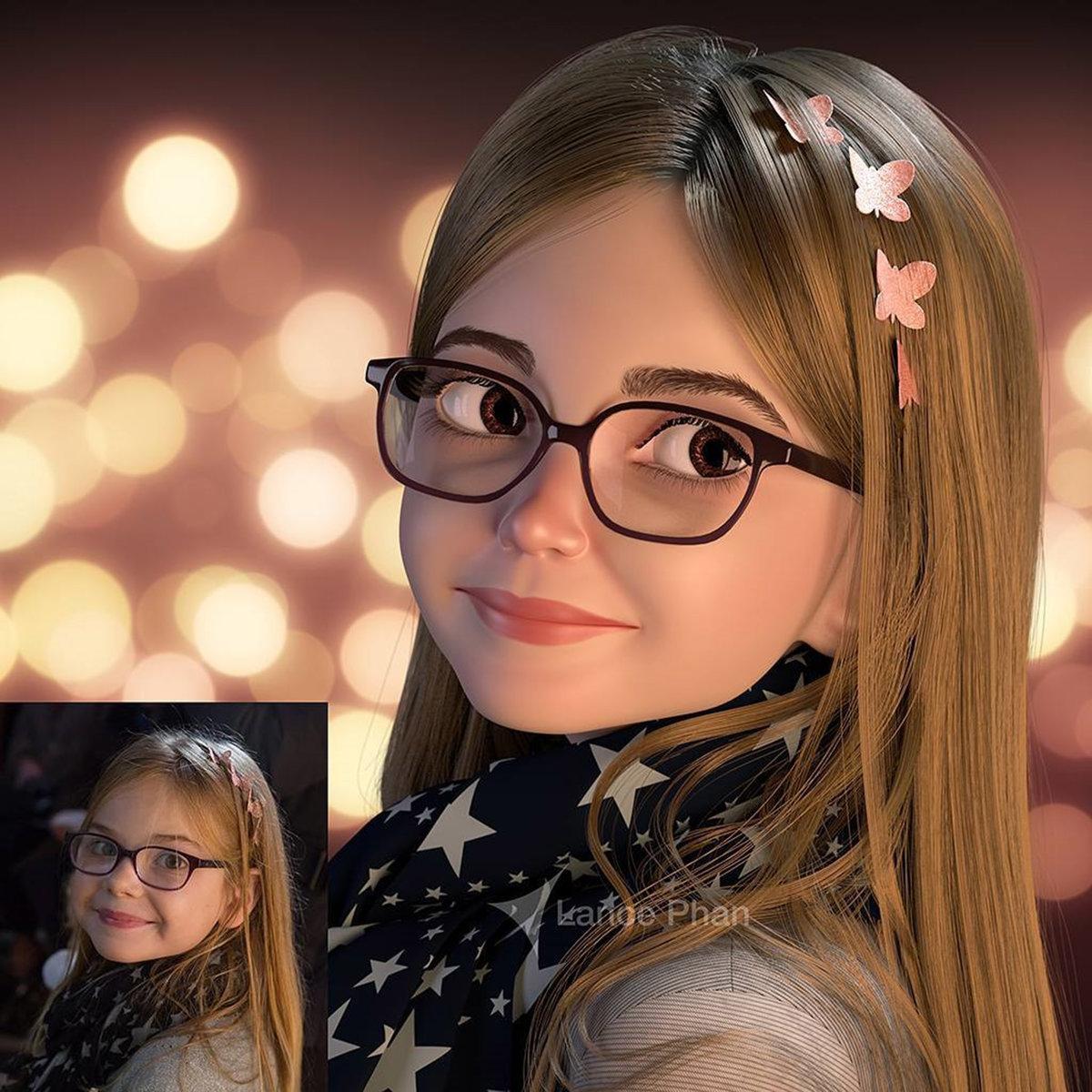 Как превратить фото в мультяшную картинку