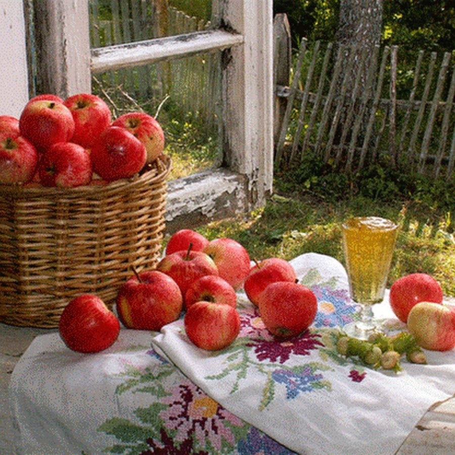 Картинки автолюбителям, открытки с яблоками доброе утро