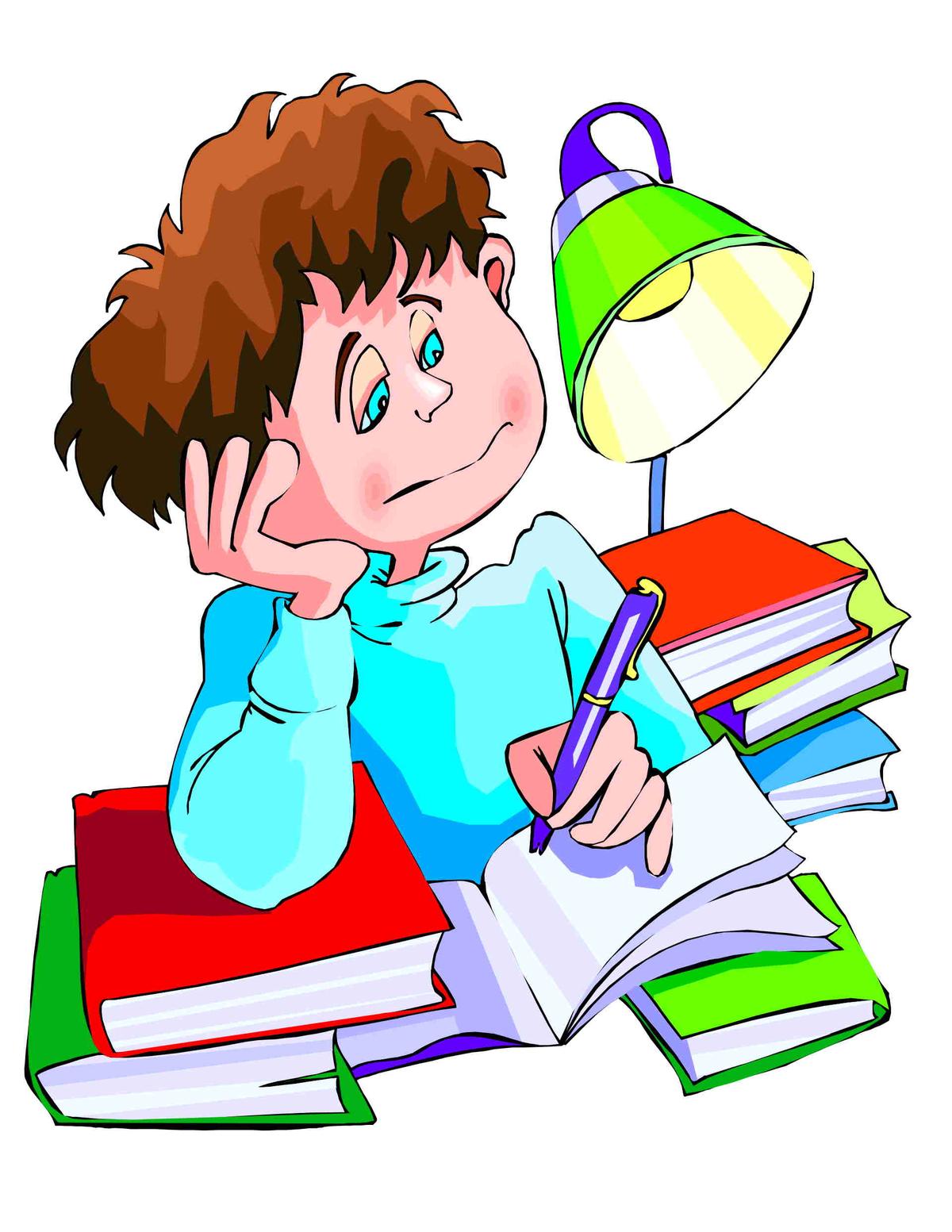 Картинки анимации ученики