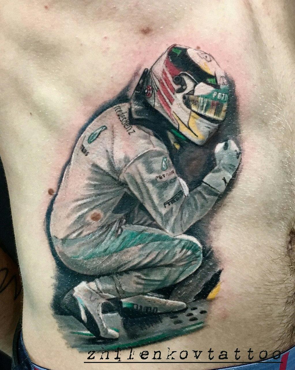 карьера фото тату для гонщика стиле сафари