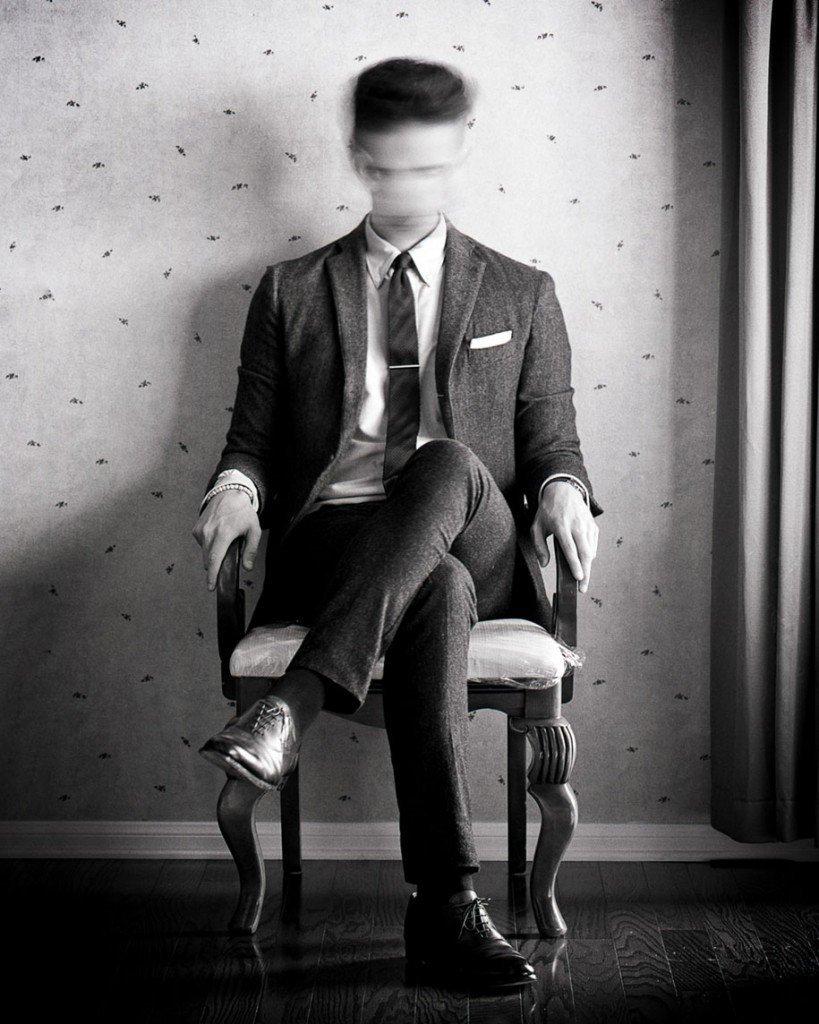 Креативные картинки черно белые мужчины