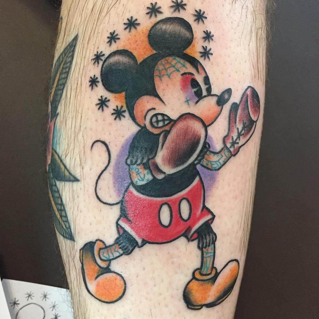 Татуировки микки маус картинки