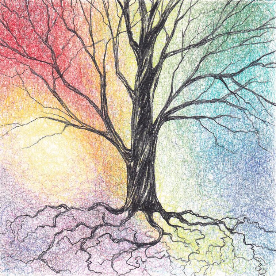 рисуем дерево картинки