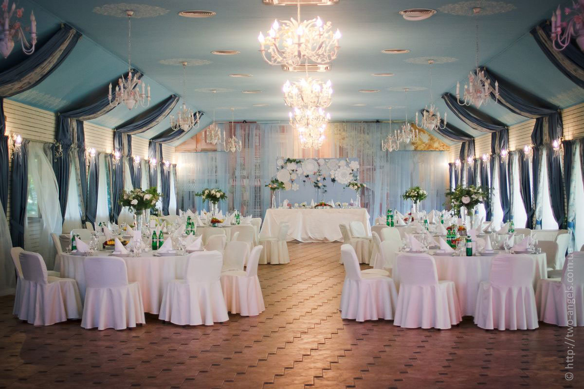 залы для свадеб фото порадуют простыми нежными