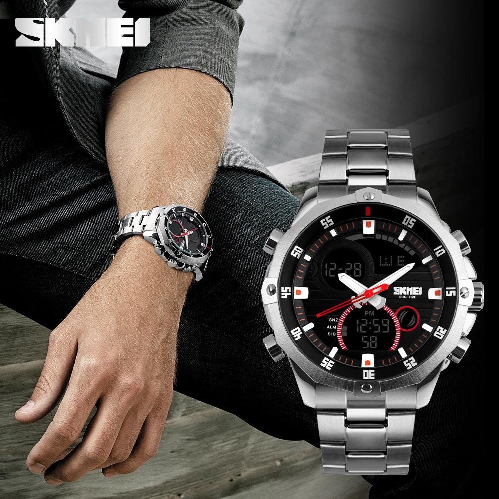 Поэтому вопрос, нужны ли мужчине часы, считаю исчерпывающим.