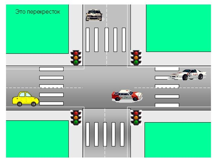 титов картинка перекресток с пешеходным переходом территории этой