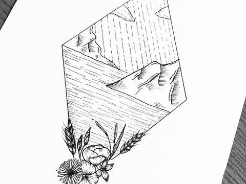 маникюр с знаком бесконечности