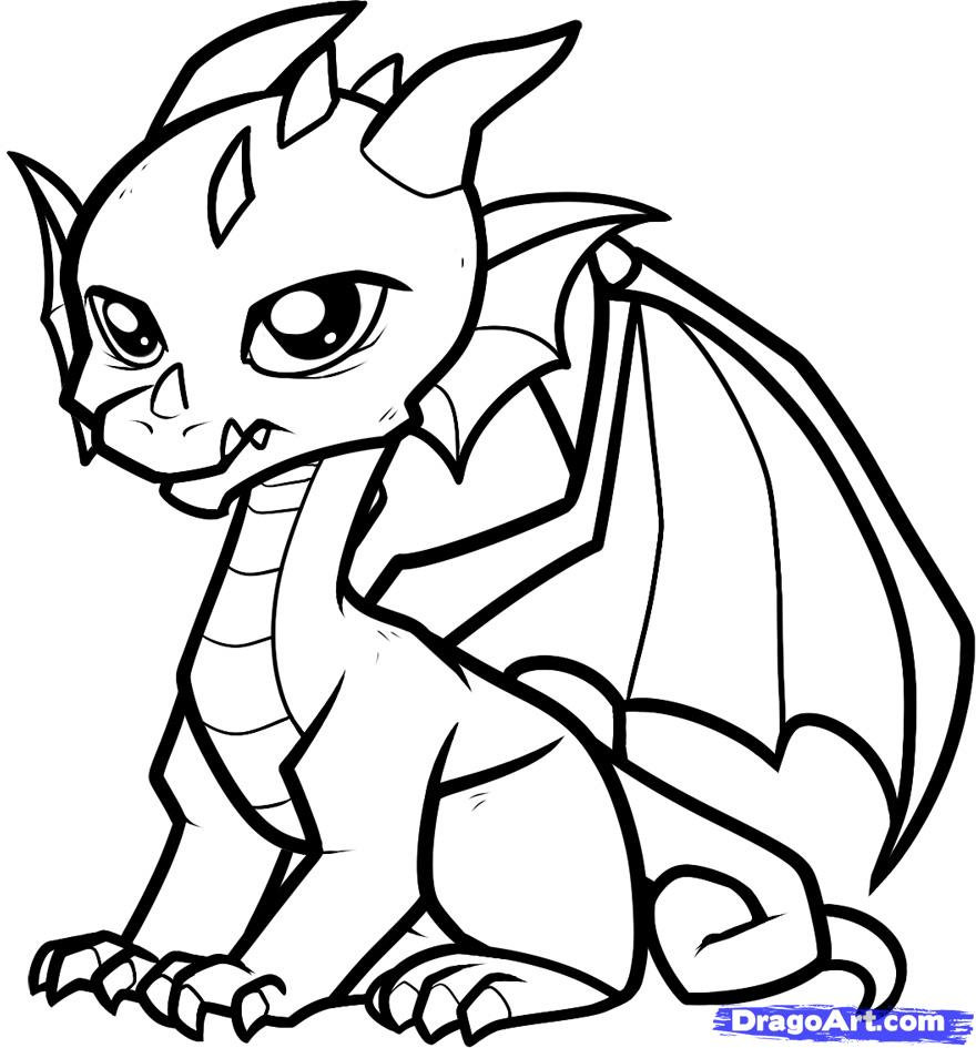 Dragon Coloring Pages Printable Free Printable Coloring Pages For ...