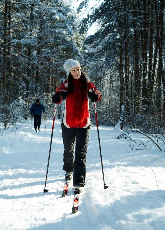 фотосессия в лесу зимой с лыжами что вопросы раздела
