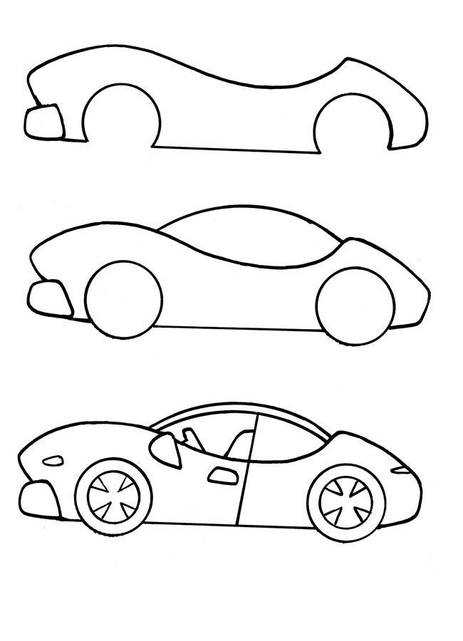 выращивания схематическая картинка автомобиля точно всё равно