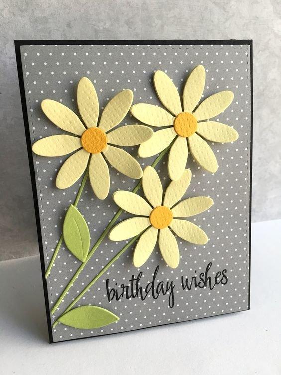 Креативная открытка бабушке на день рождения своими руками
