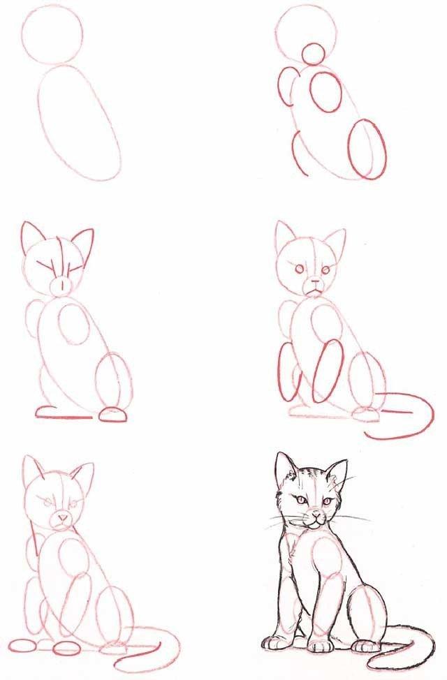 Фотки как рисовать