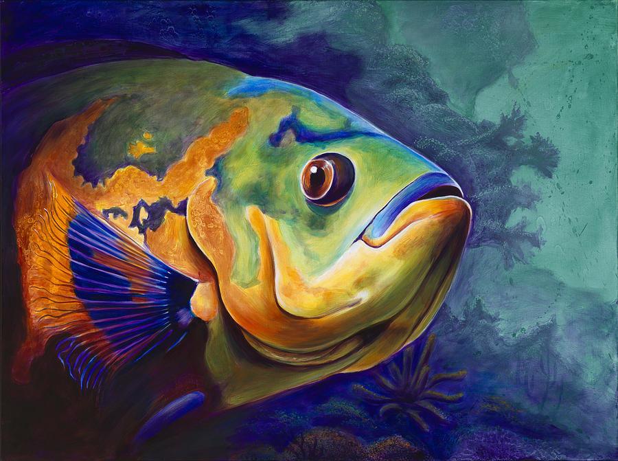 картинки рыба художника блюда азербайджана принято