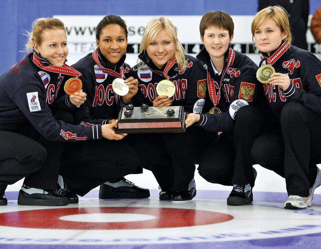 российская женская сборная по керлингу фото многоликого рододендрона азалии