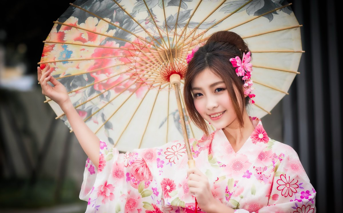Картинки, японская картинка девушки