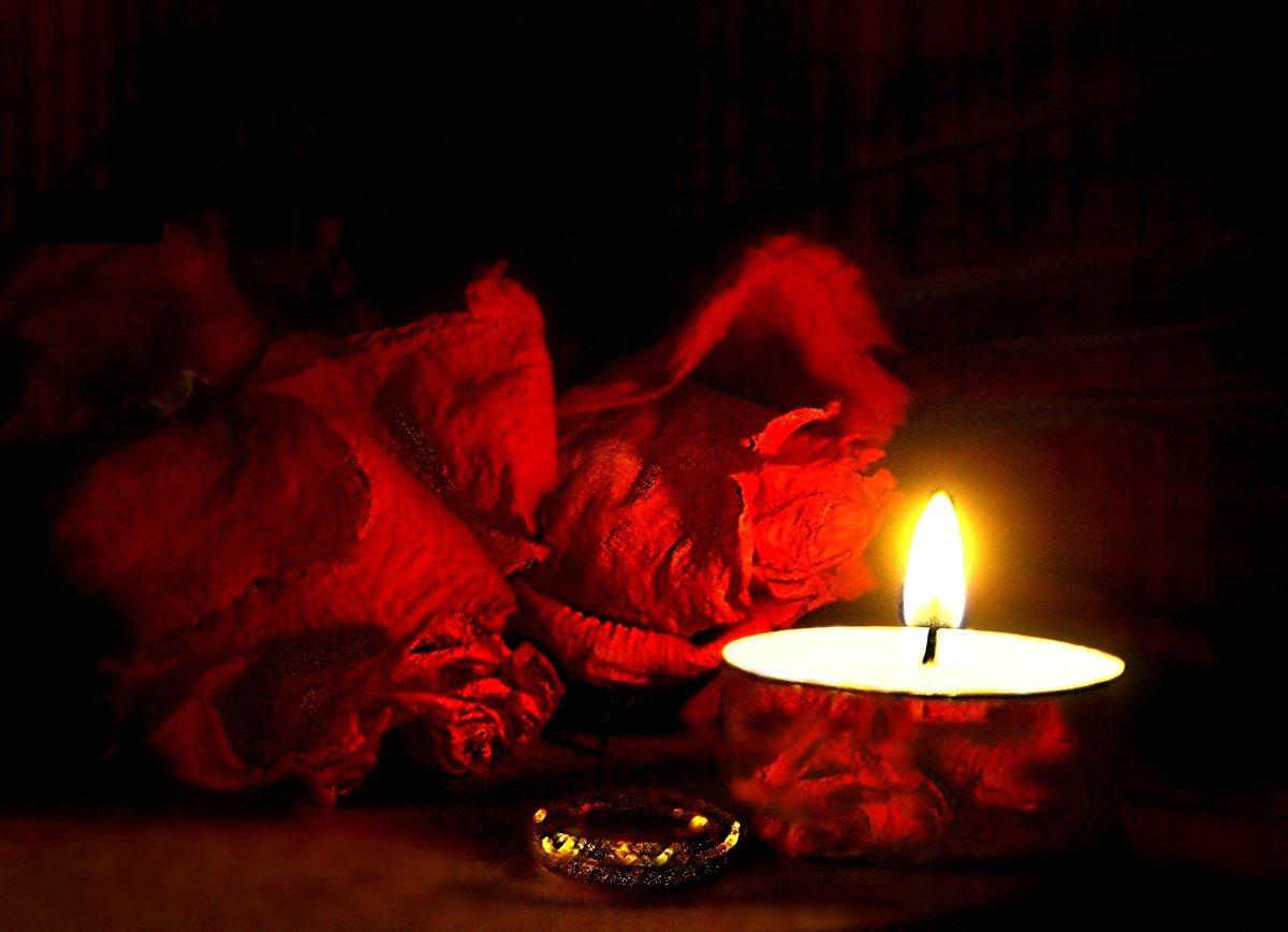 картинки цветы свечи траур близкие космосу