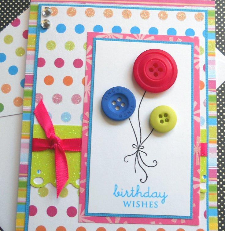 Прикольное оформление открыток с днем рождения