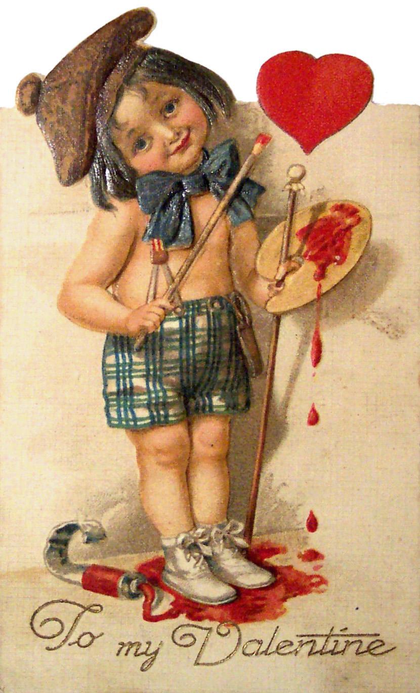 Днем, открытки ретро любовь