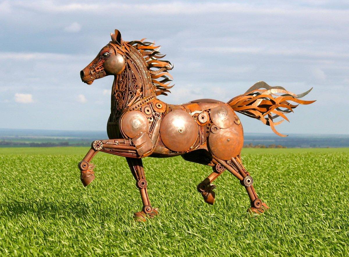 Железный конь картинки