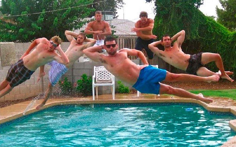 Люди в бассейне смешные картинки, япония рабочий стол