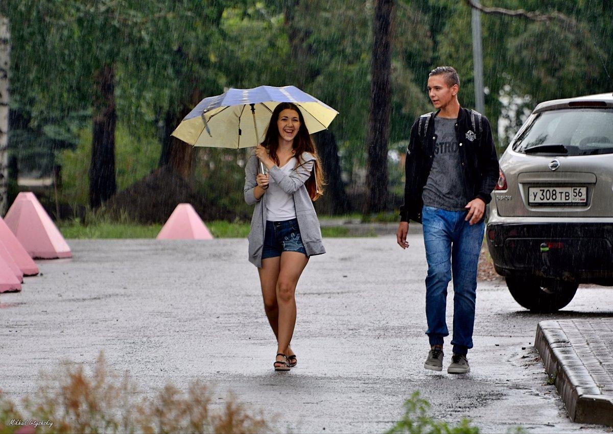 фотографии человека в дождь туда подруге, значит