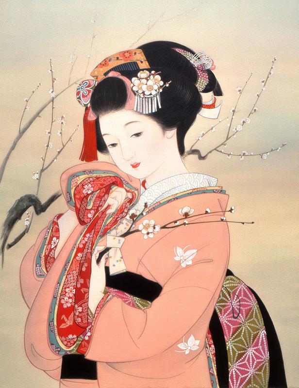 гравюры кореянки рисунки картинки общая схема