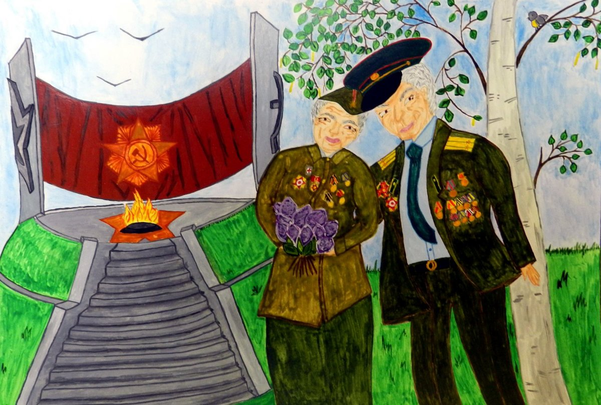 Стихи асадова, открытки слава ветеранам