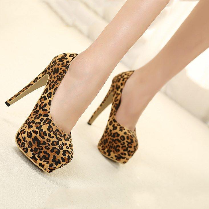 Туфли леопардовые картинки