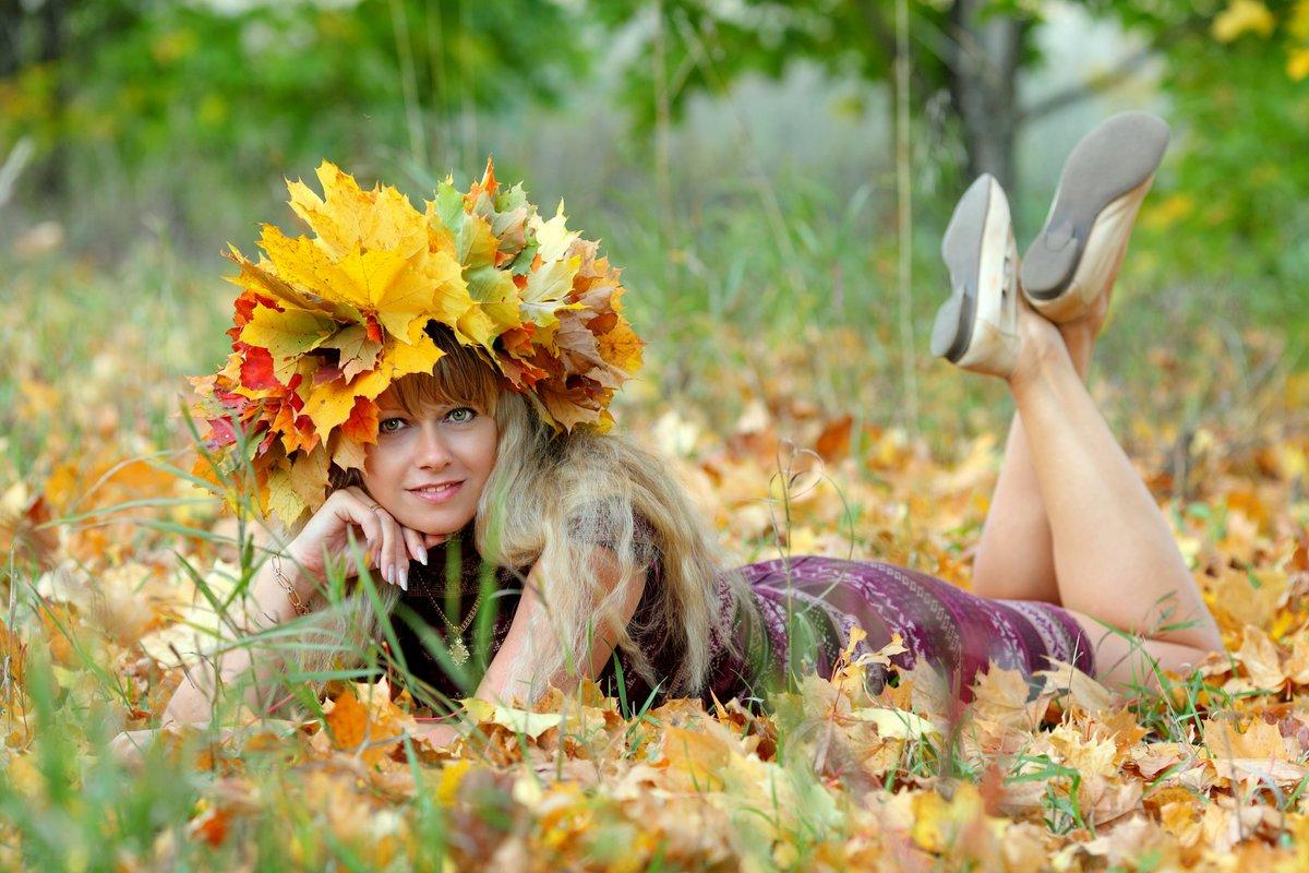 Женщина осень картинки красивые, открытка сделать открытка