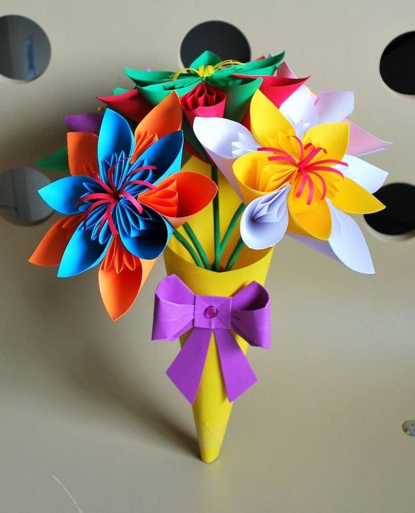 Оригами букеты