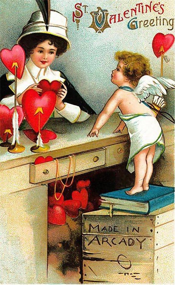 Открытку детьми, старые открытки для любимой