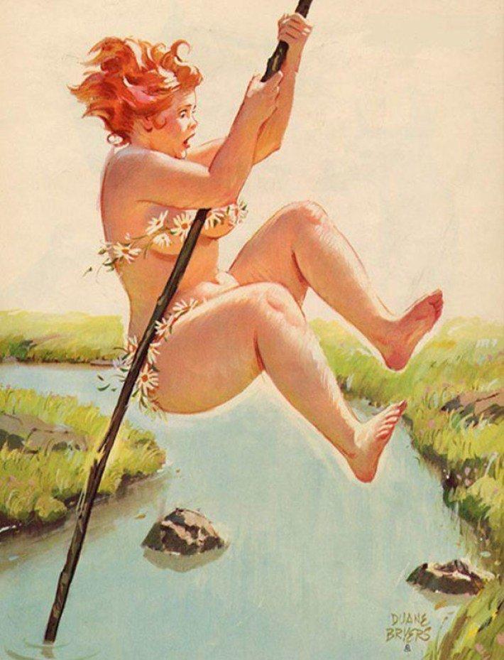 Рисованные картинки смешные женщины, магазина открыток открытка