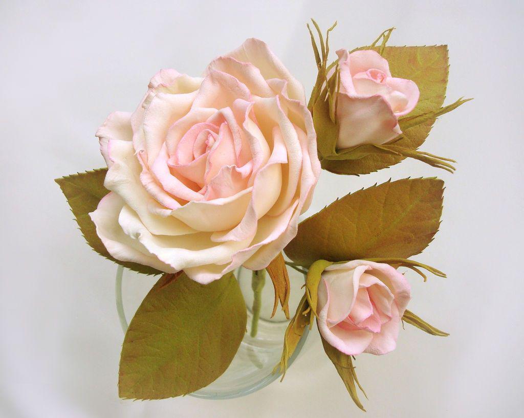 розы из фома фото мк всего это