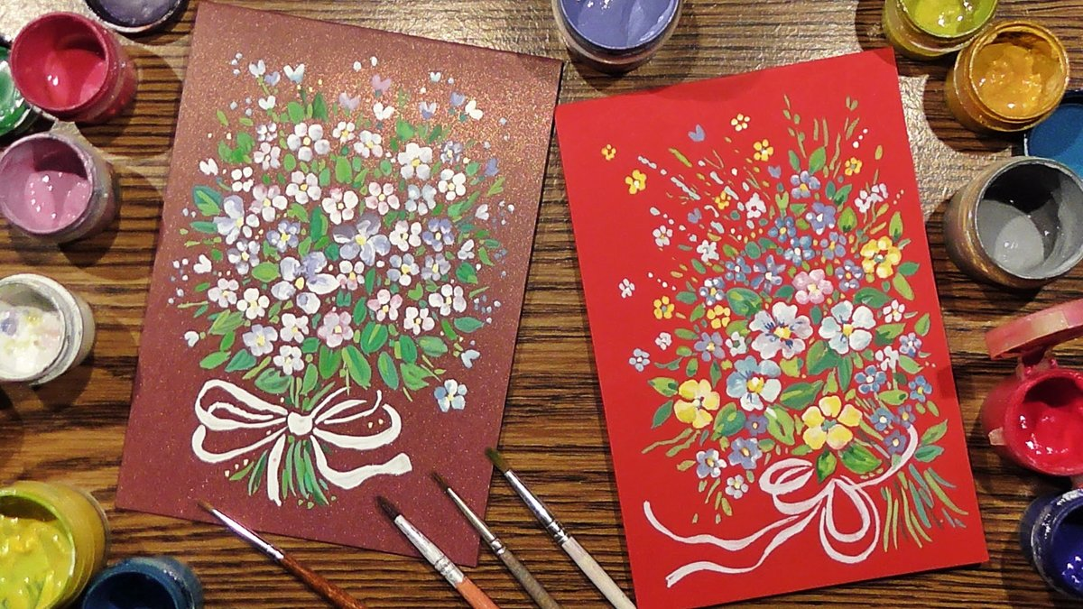 Уроки рисования открыток