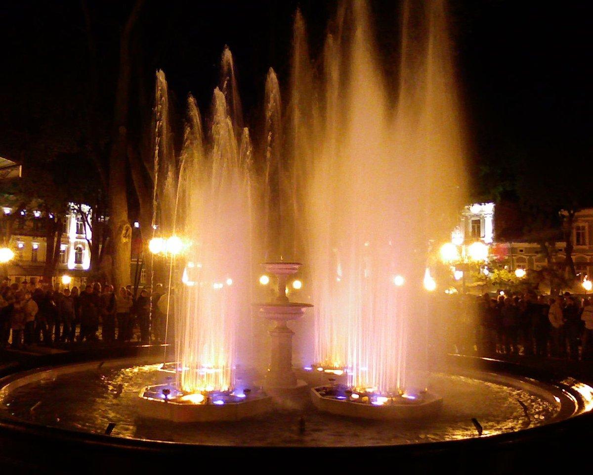 одесский фонтан духов фото уже давно переехала