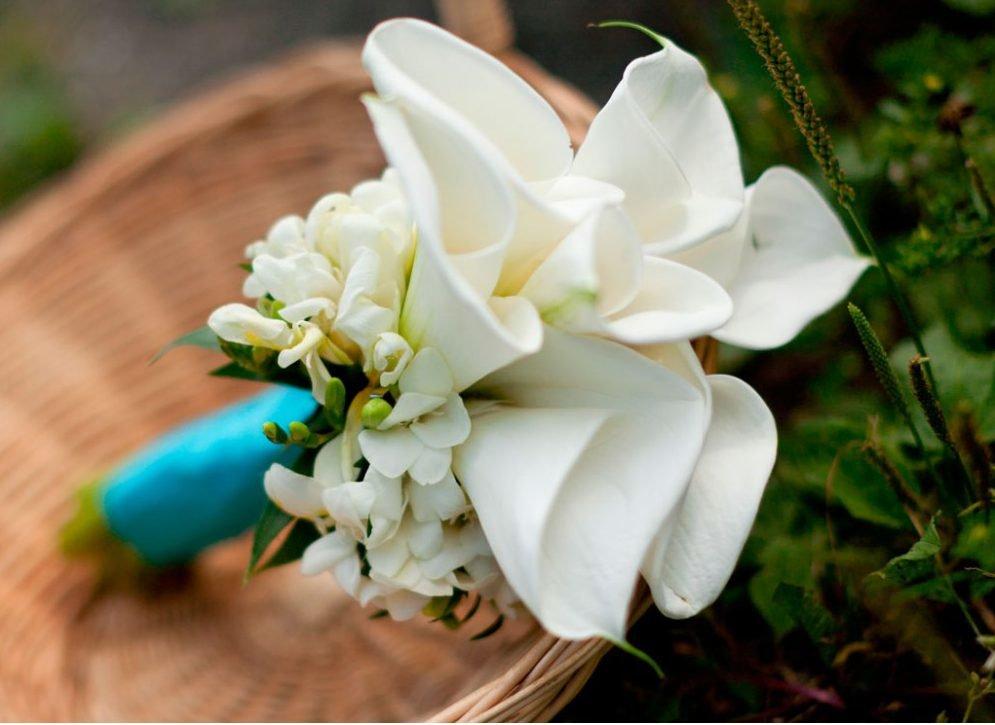 Букет для невесты из калла