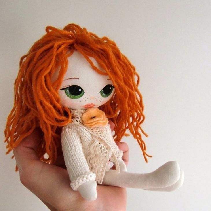 Открыток, картинки самодельные куклы